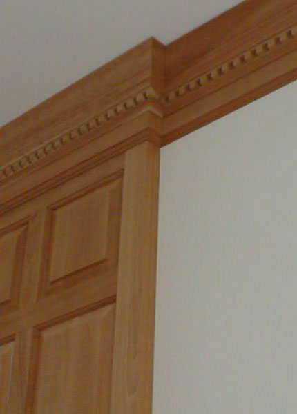 custom designed crown moulding