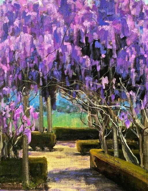 georgia mansur - wisteria path