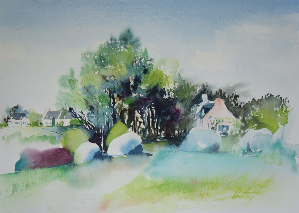 Belle Ile en mer by Olivia Quintin