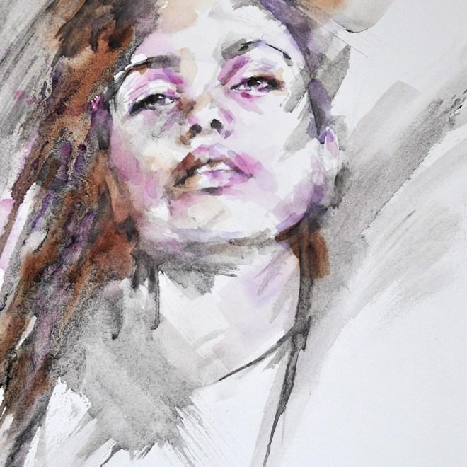 Rebel (framed) by Stephie Butler