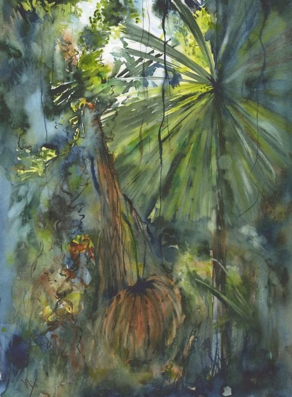 Licuala Palm giclee print and greeting card