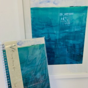 Deep Currents Painting and Notebook