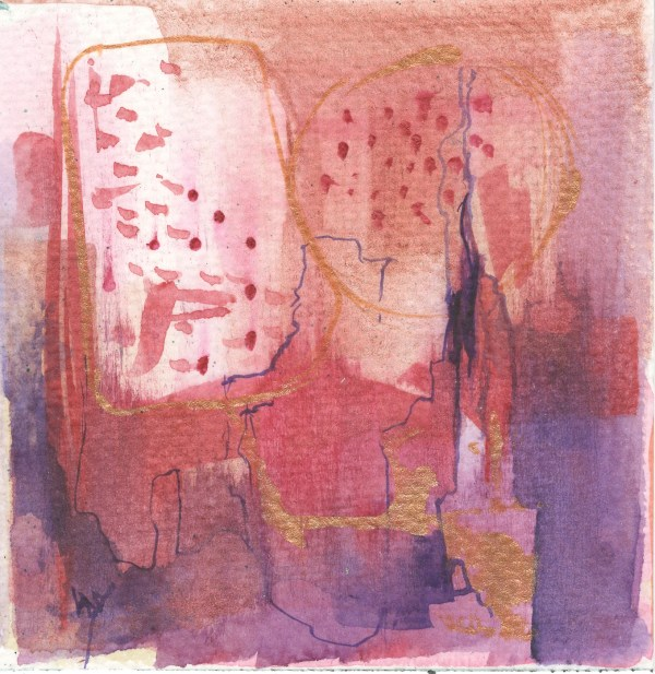 Little Abstracts - Rosy Glow