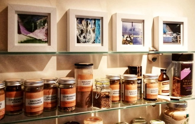 How to display artwork at home