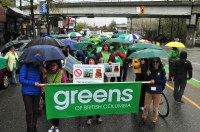 Earth Day BC Greens 7th Ave