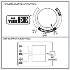 vanEE Air Exchanger Controls & Switches