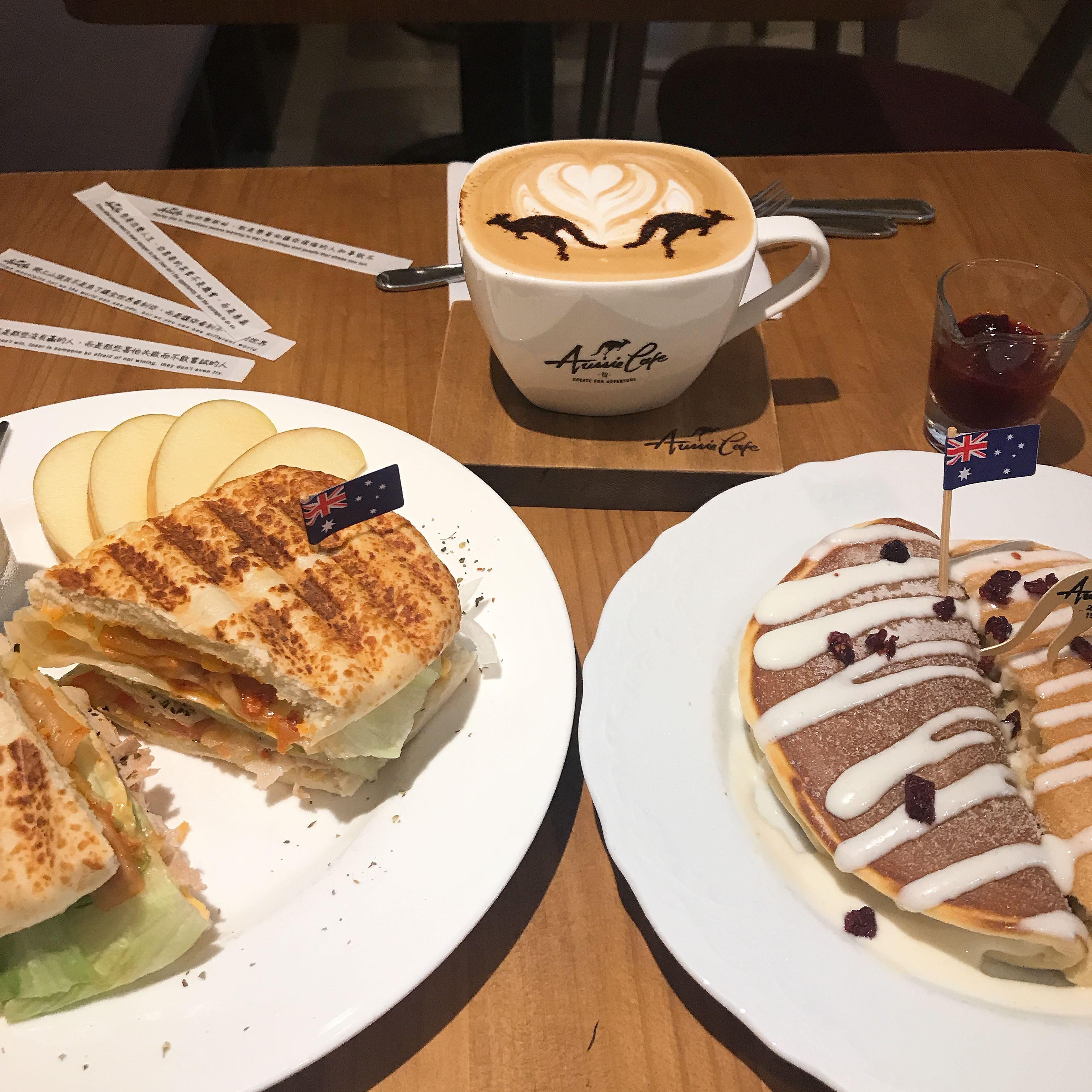 【臺北中山區 咖啡館】Aussie Cafe 澳氏咖啡::早午餐/煎餅/咖啡 (中山國小捷運站 2號出口) – Vanessa Soul