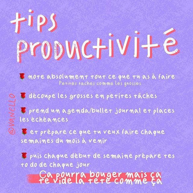 Tips Productivité