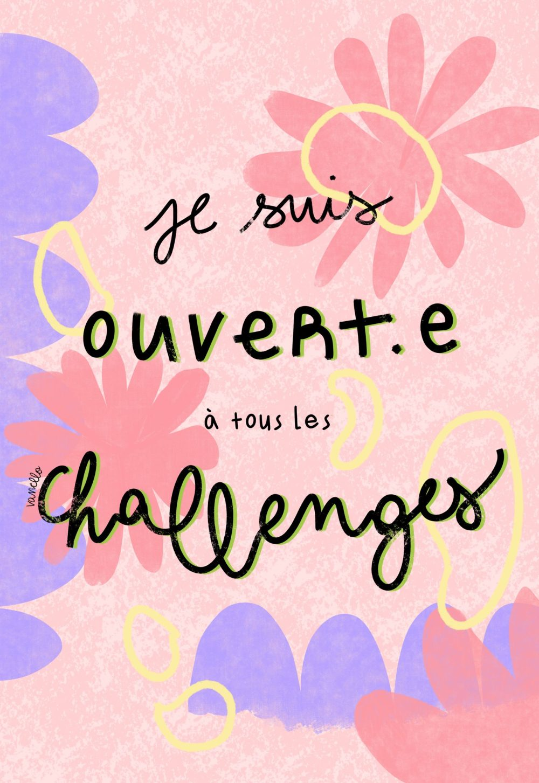 Ouverte aux challenges