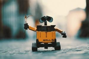wall-e el robot más molón