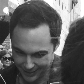 Jim Parsons aka God in An Act of God