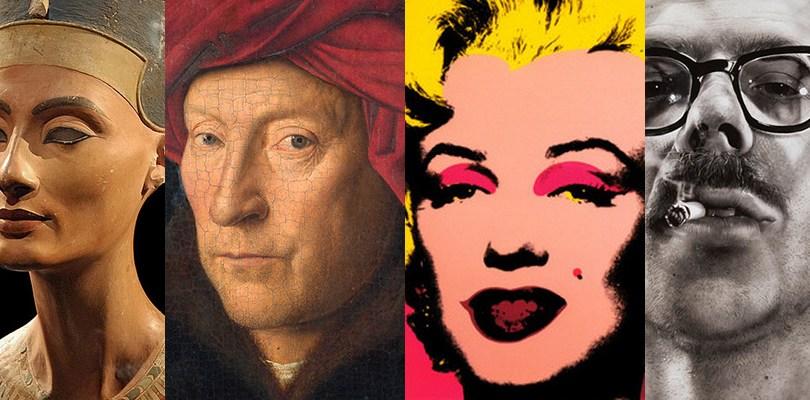 """Big Heads"" (Portraits) from art history"