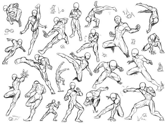 movements and shapes