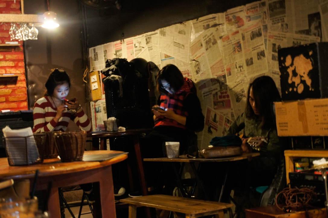 Acoustics bar, Hanoi, Old Quarter