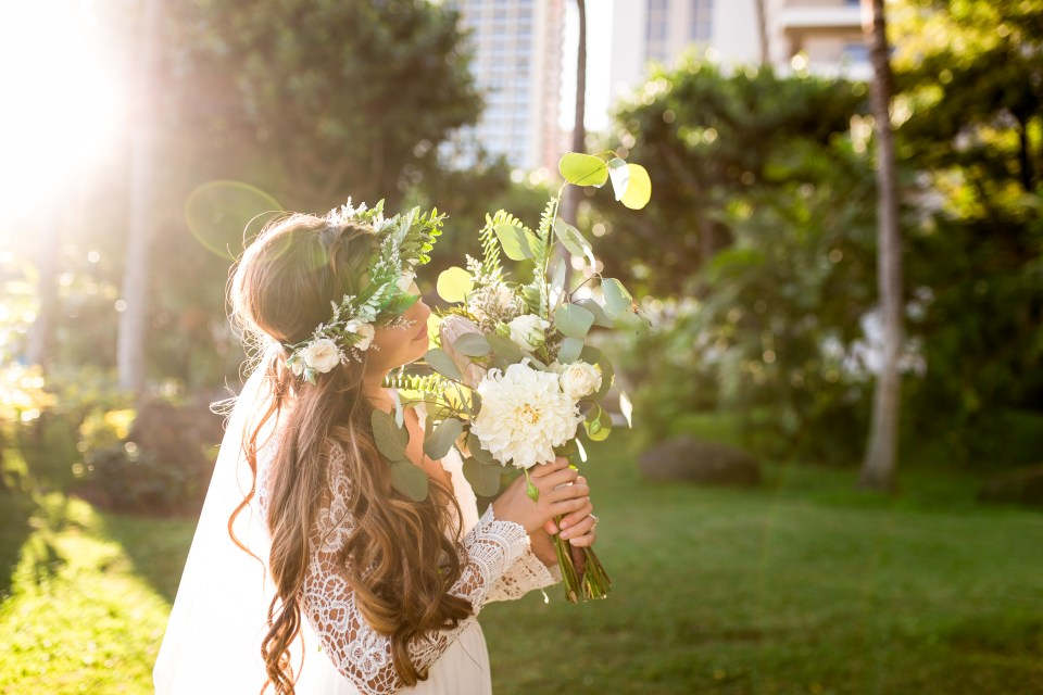 wedding bouquet hawaii