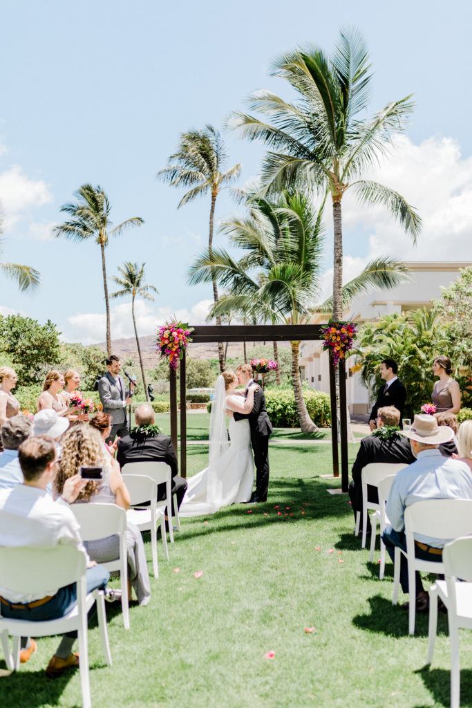 ceremony at four seasons oahu