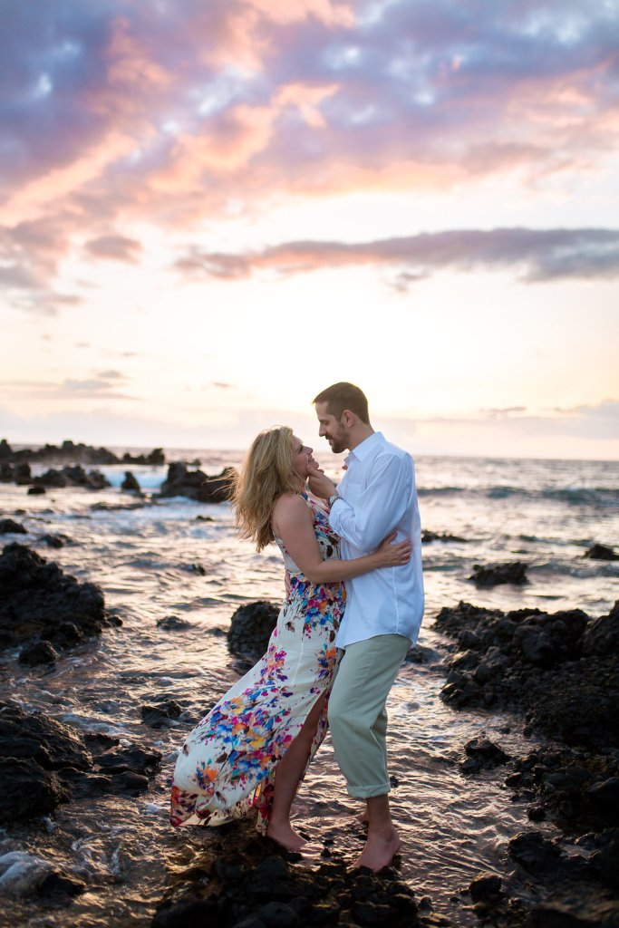 Maui Engagement Session on the beach