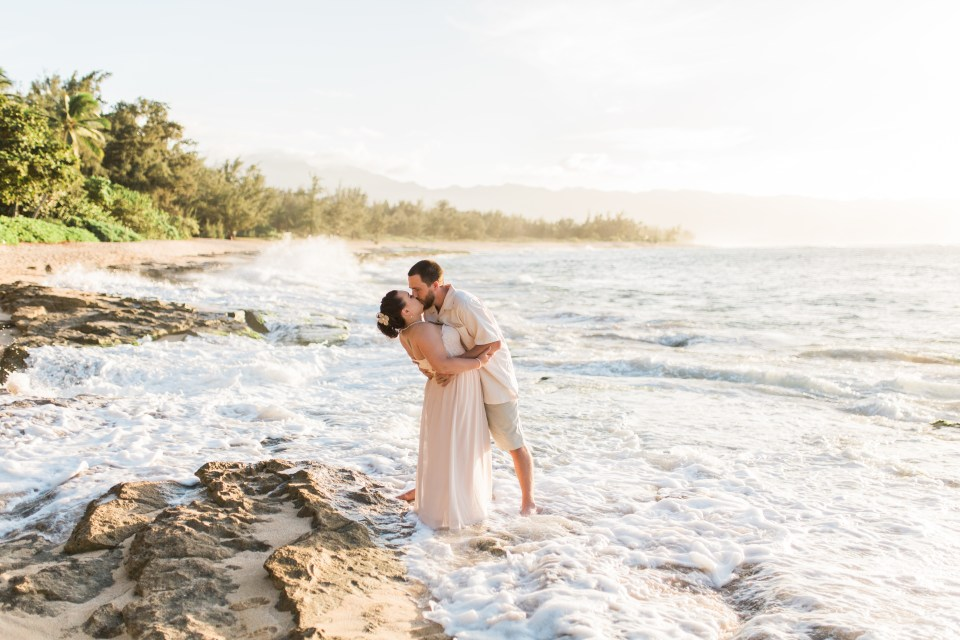 Weddings on North Shore, Hawaii