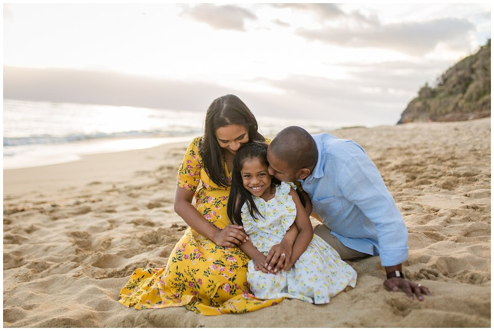 Hawaii Beach Family Session