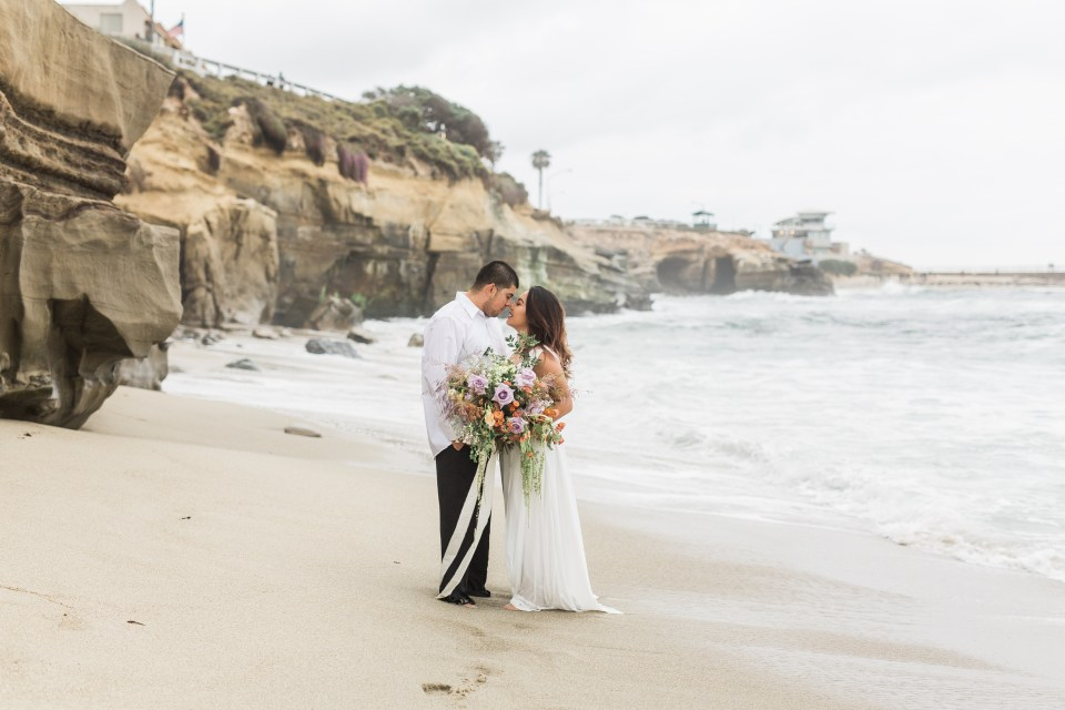 Wedding La Jolla Cliffs