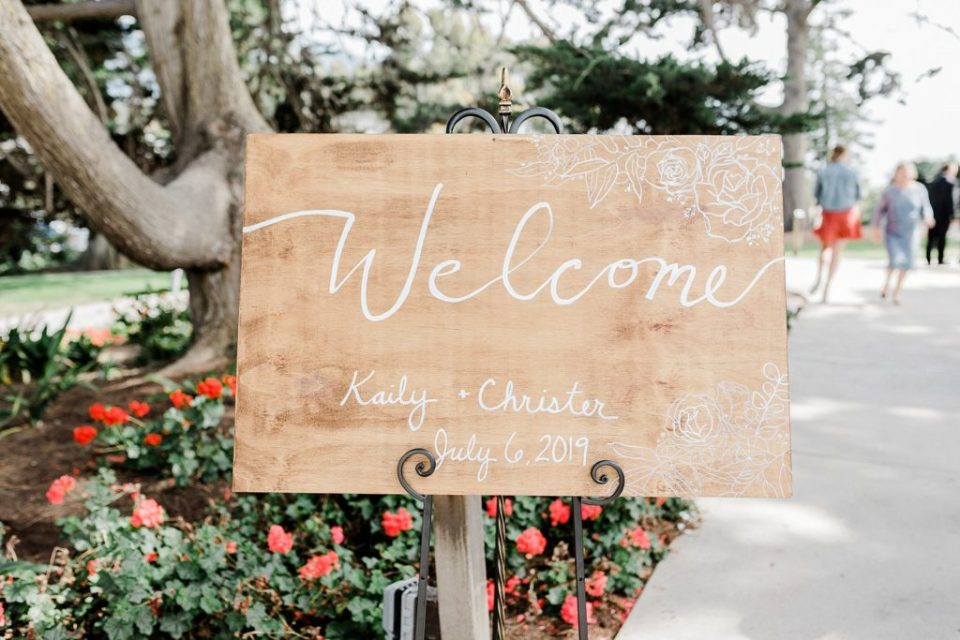 Welcome to the Wedding Signs