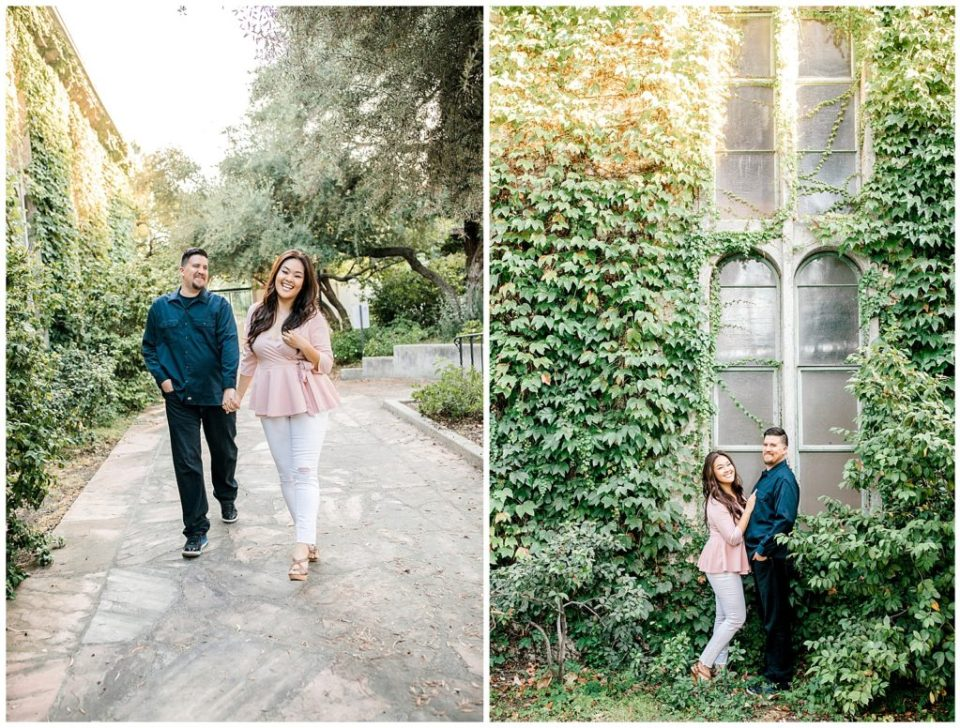 the claremont colleges engagement session