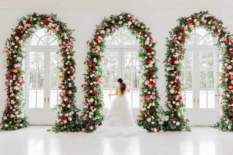 floral arches for weddings