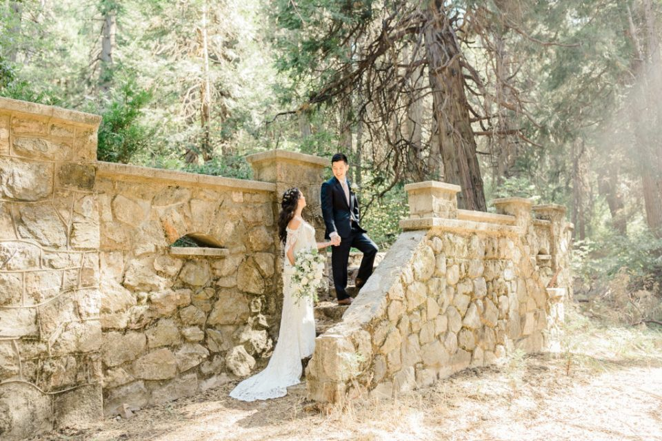 forest elopement in California
