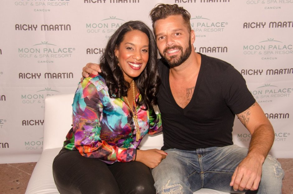 Video: Ricky Martin takes over Moon Palace in Cancun.