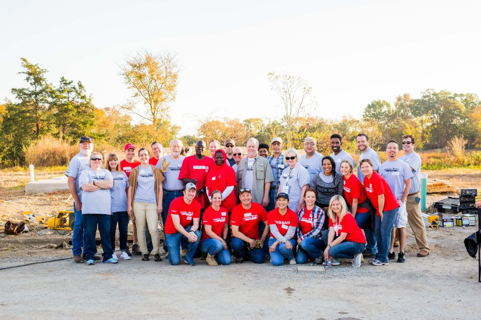 My trip to Nashville with Nissan and Habitat for Humanity.