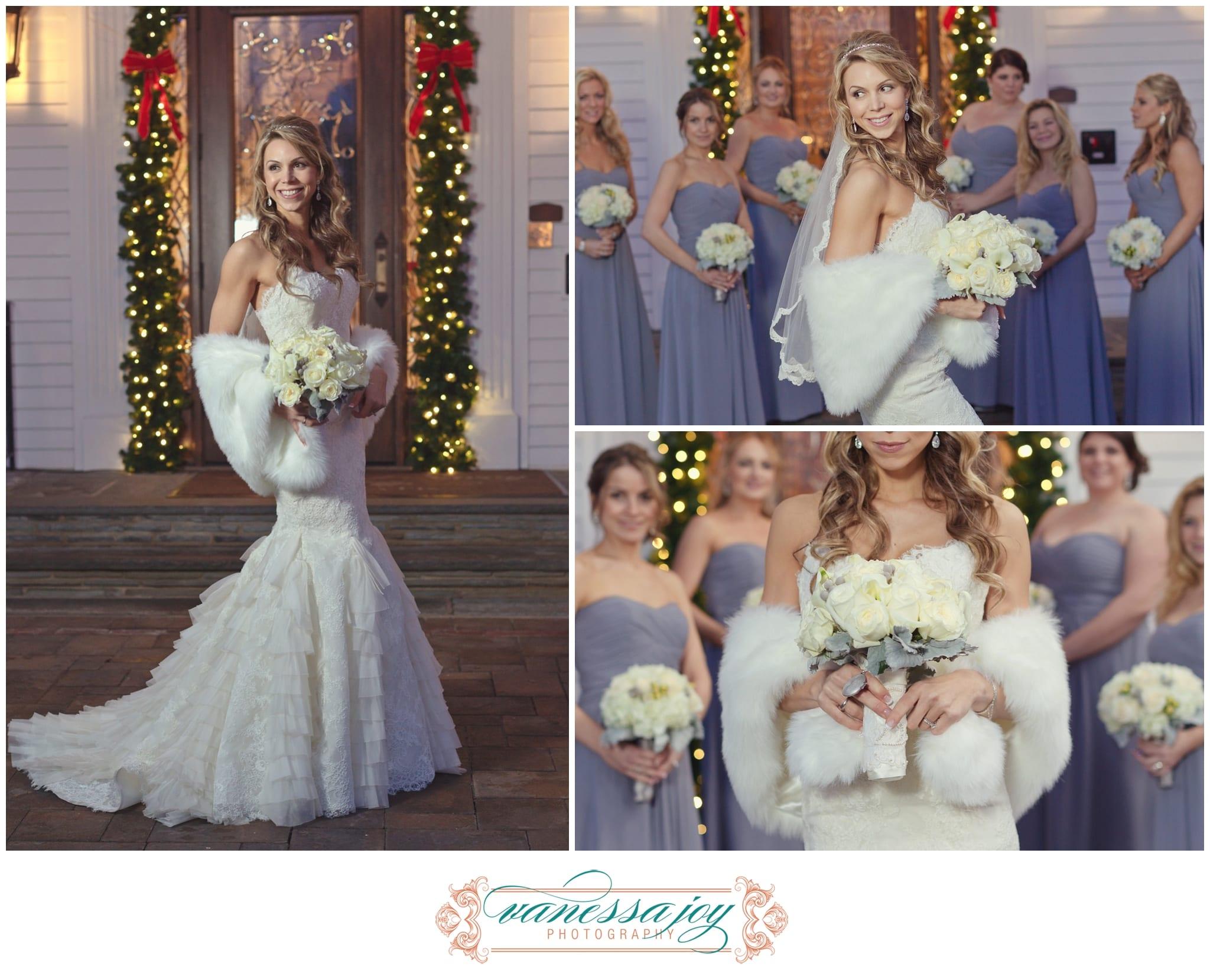 Winter Wedding photos by Vanessa Joy Photography