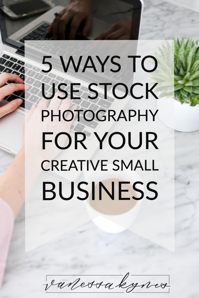 Are you using stock photo with your brand? Stock photos can be used in endless ways!  I'm sharing 5 ways to use stock photos to grow your creative business!