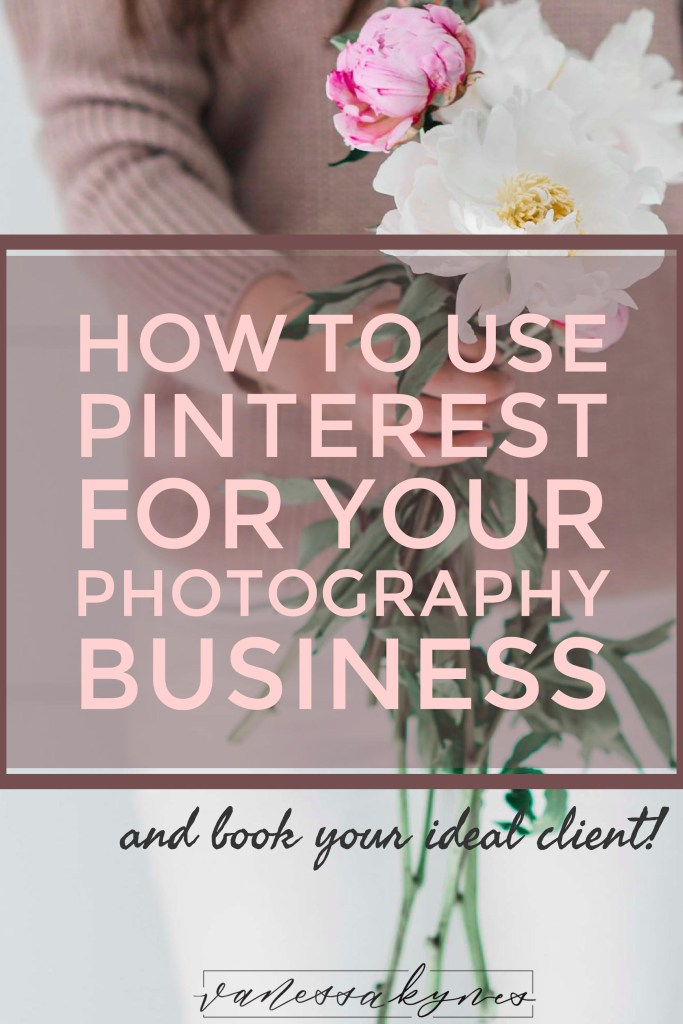 Pinterest for your photography business