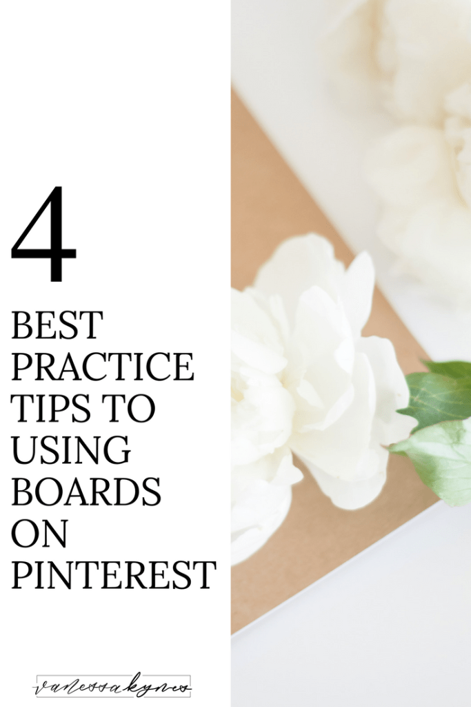 Choosing keywords for your boards on Pinterest is important! Boards, like pins, are searchable and will direct users to your personal content. In this blog post, I'm sharing my favorite Pinterest tips and tricks to find keywords for your Pinterest boards. #pinteresttips #pinterestforbusiness #pinterestboards #smallbusiness