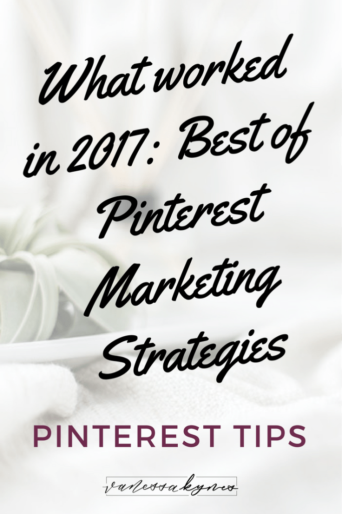 Best Pinterest Marketing Posts of 2017: I'm sharing my top posts about Pinterest marketing in 2017. You'll find tips about getting noticed on Pinterest with a small following, Pinterest headquarters, and hashtags on Pinterest. #pinterestmarketing #pinteresttips #pinterestforbusiness #girlboss #creativeentrepreneur