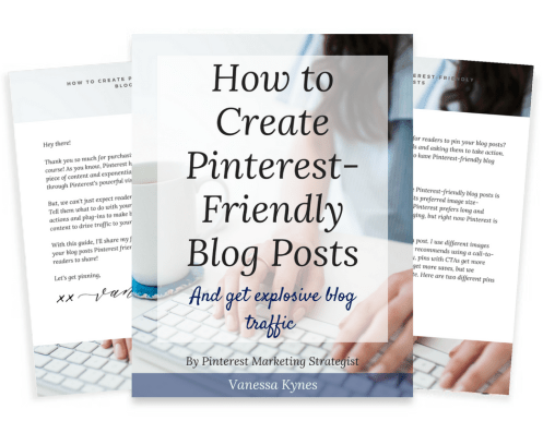 pinterest-friendly blog posts