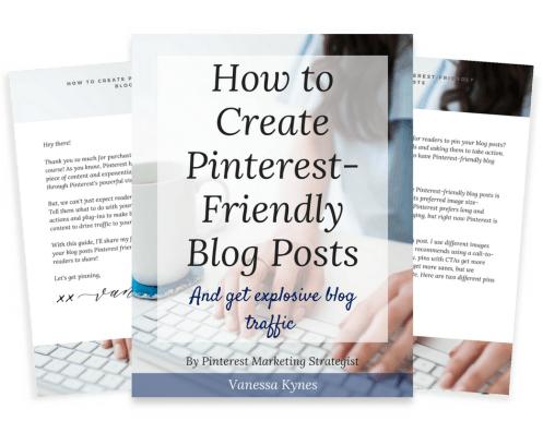 pinterest-friendly blog posts