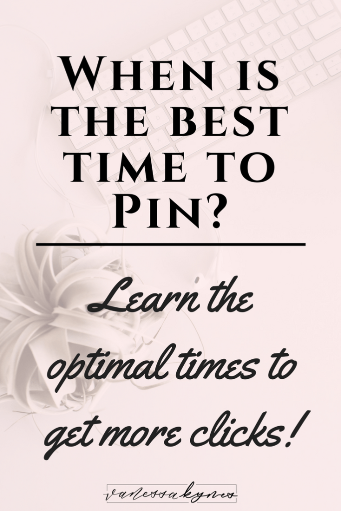 Does it matter when you pin on Pinterest? Did you know that there are optimal times to pin your content on Pinterest? In this blog post, I'm sharing how to find your optimal times to pin as well as why it matters with the Smart Feed and new Following Tab on Pinterest.