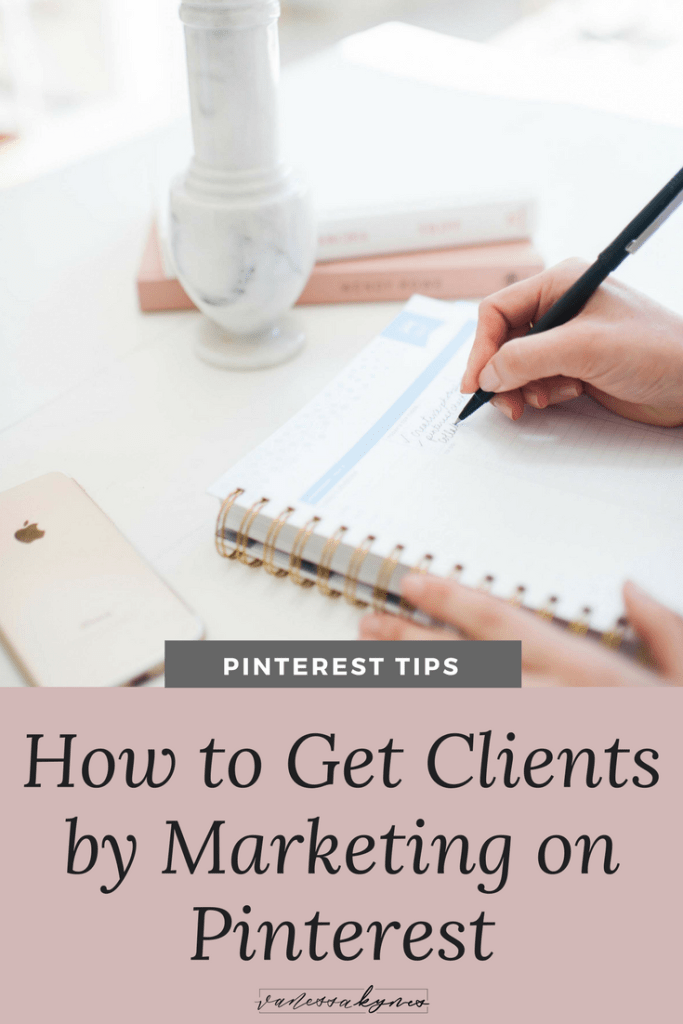 Find more clients by using Pinterest- Vanessa Kynes