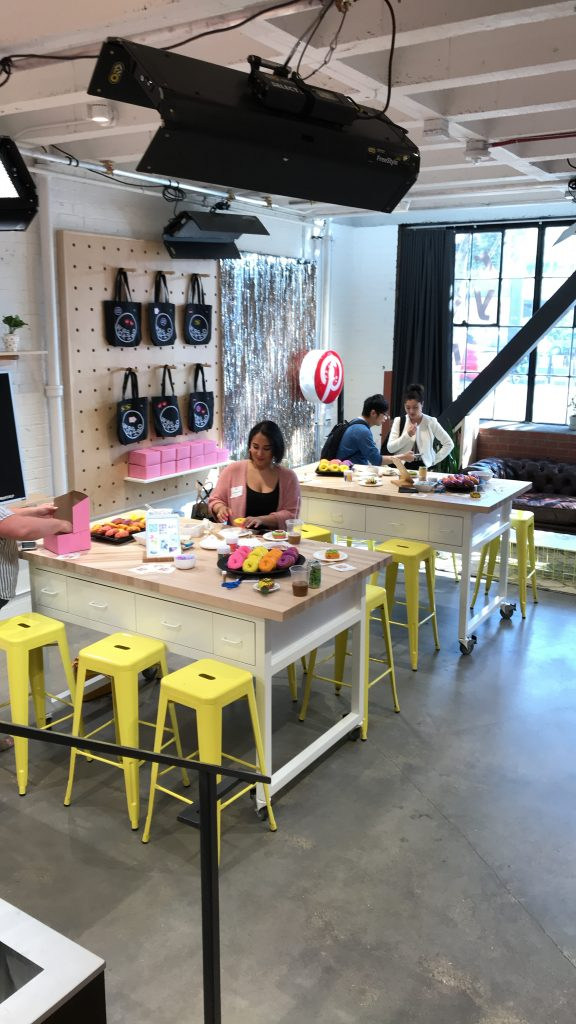 Inside the Pinterest Workshop at Pinterest headquarters