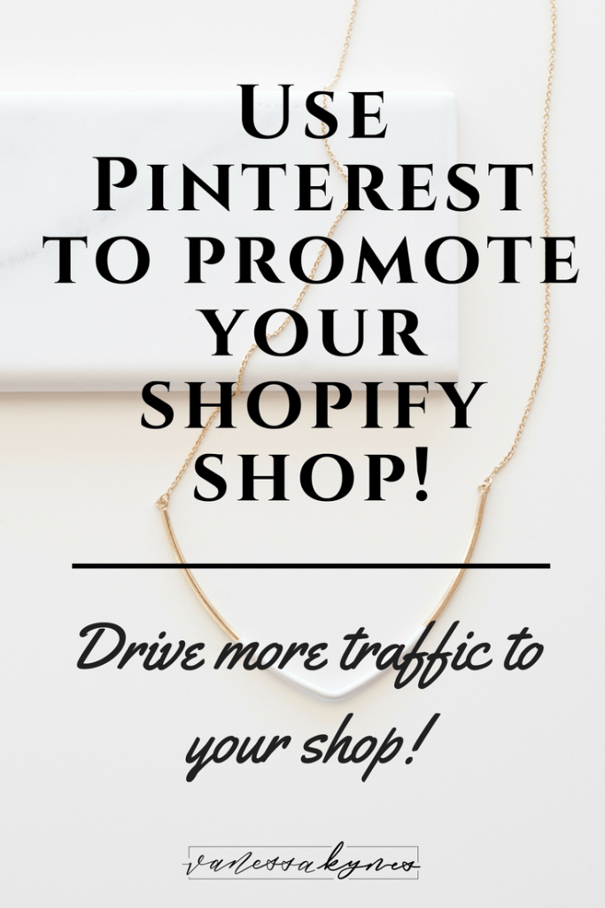 Shopify is a powerful platform for e-commerce. Using some basic Pinterest marketing strategies, I'm sharing how to promote your Shopify shop on Pinterest.