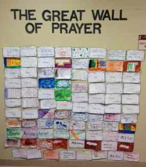 great wall of prayer