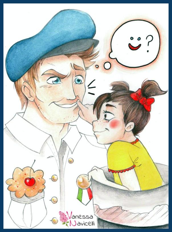 Illustrazione_Sottomarino in paese