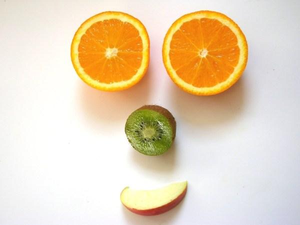 faccia di frutta