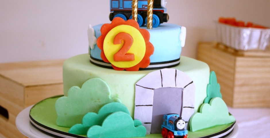 A THOMAS PARTY FOR MY BABY BOY