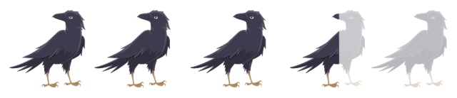 3.5 crows out of 5