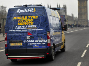 Kwik Fit 'Mobile7' van