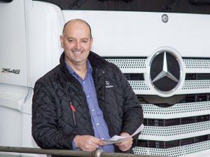 Rab Jackson, Mercedes-Benz Truck & Van (NI)