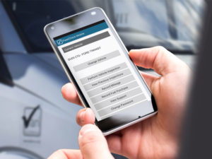 The Walkaround Check app provides a completely paper-free checking process