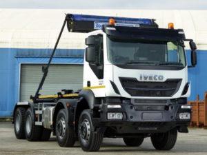 Iveco DriveAway Trakker hook loader